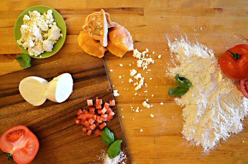 Schlipf&Co Tomate-Mozzarella-Nudel