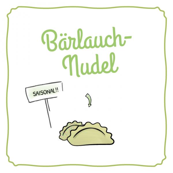 Schlipf&Co Bärlauchnudel