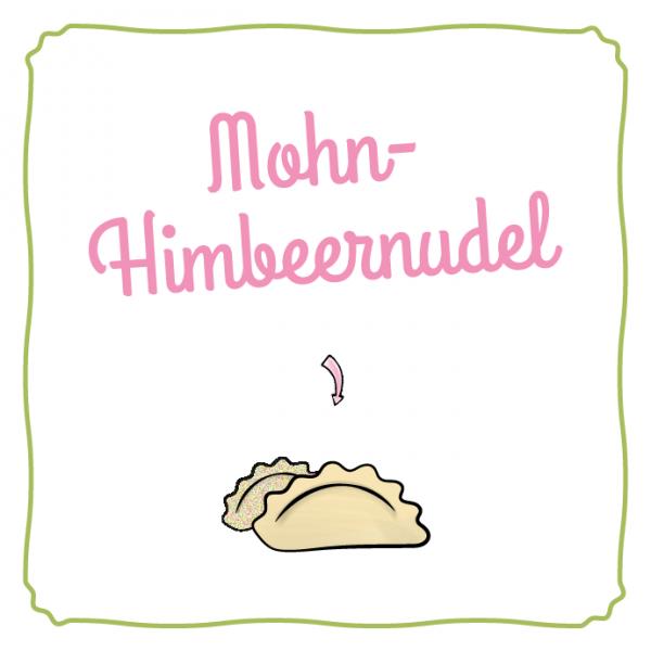 Schlipf&Co Mohn-Himbeernudel