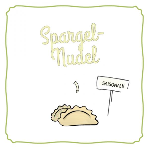 Schlipf&Co Spargelnudel